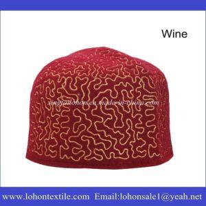 Wool Felt Muslim Prayer Hats, Muslim Prayer Cap, African Traditional Caps pictures & photos