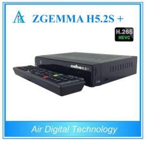 2017 Hot New Products DVB-S2X Zgemma H5.2s+ DVB-S2+ DVB-S2X/T2/C Hevc H. 265 Satellite Receiver Zgemma H5.2s Plus pictures & photos