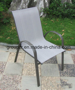 Garden Furniture/Laisure Stacker Chair/Dining Chair/Textilene Chair pictures & photos