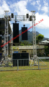 Single 12 Inch 3-Way Line Array System, Xlc127+ & Xlc215 Professional Outdoor Loudspeaker pictures & photos