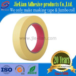 China Factory Yellow High Stick Crepe Paper Masking Tape for Car Painting pictures & photos