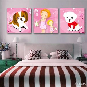 Multi Panel Paintings Wall Art Canvas Print Oil Painting for Kids Room pictures & photos