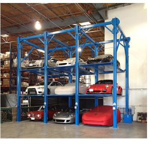 Overground Hydraulic Quad Car Stacker Parking Lift pictures & photos