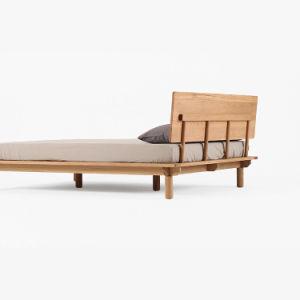 Antique Modern Oak Living Room Solid Wood Bed Frame pictures & photos