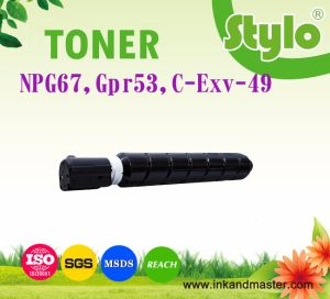 Copier Toner Cartridge C-Exv49 Npg67 Gpr53 for Canon Printer Consumable pictures & photos