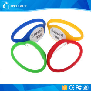 13.56MHz  RFID Wristband for Water Parks, Theme Parks, Sporting Venues pictures & photos