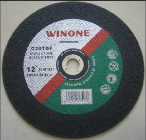 Big Size Double Layer Abrasive Metal Cutting Wheel (R41A-A) pictures & photos