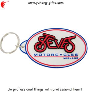 Factory Cheaper 3D Keychain Key Holder for Promotion Gifts (YH-KC067) pictures & photos