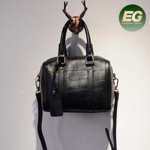 Crocodile Print Style Genuine Leather Shoulder Bag Women Tote Hand Bag Designer Handbag with Accessories Emg5036 pictures & photos