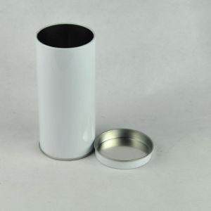 Round Food Grade Empty Tea Can Tin Box Airtight Container pictures & photos
