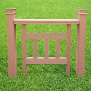 Waterproof Wood Plastic Composite for Riverside Fence Railing pictures & photos