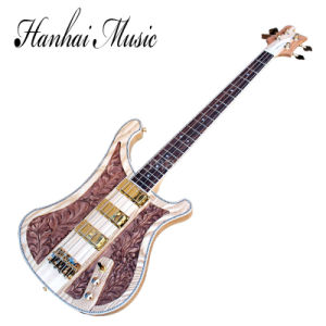 Hanhai Music / 4 Strings Rick Style Electric Bass Guitar pictures & photos