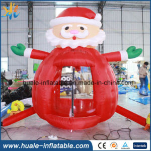Inflatable Cash Machine, Inflatable Santas Money Booth for Sale pictures & photos