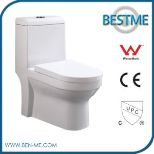 Bathroom One Piece Dual Flush Western Toilet (BC-1025A) pictures & photos