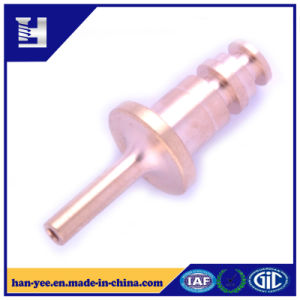 Brass Milling Step Connector for Ejector Pin pictures & photos