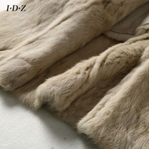 2016 New Design of Genuine Sheepskin Leather and Fur Garment with Fox Fur Women pictures & photos