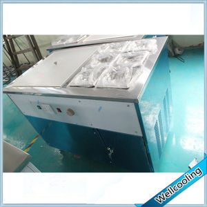50cm Flat Roll Ice Pan Rolled Ice Cream Machine 110V Square pictures & photos