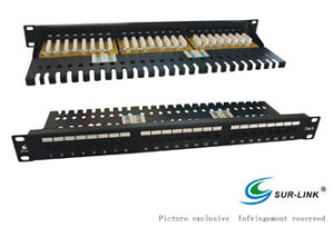 24 Port Lsa IDC UTP Cat. 6 Patch Panel pictures & photos