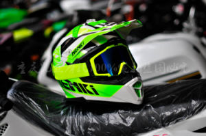 Full Face Motorcycle Helmet for Motocross of Fiber Reinforced Plastics Material pictures & photos