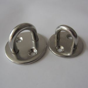 Stainless Steel Round Eye Plate pictures & photos