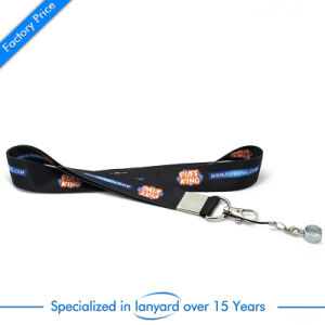 China Custom Sublimation Printed Lanyard with Buckle pictures & photos