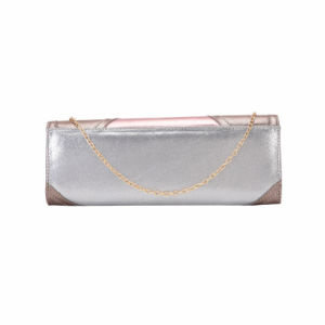 Champagne Pattern Snake Front Clutch Bag (MBNO041138) pictures & photos