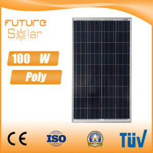 Futuresolar 100W Poly Solar Panel 18V for Home Solar System pictures & photos