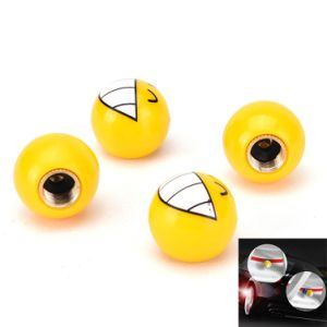 4PCS Plastic Wheel Stem Tyre Air Valve Dustproof Cap Gold Dice Tire Tyre Valve Caps Bike Auto Truck Tire Valve Dust Cap pictures & photos