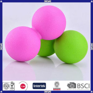 Peanut Shape Lacrosse Ball for Massage Physical Therapy pictures & photos