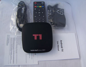 Custom Made Free IPTV 2 Years Warranty T1 Smart Android IPTV Live Streaming TV Boxes Quadcore H. 265/1080P Mxqpro Mxq PRO M8s T95upro T95rpro pictures & photos