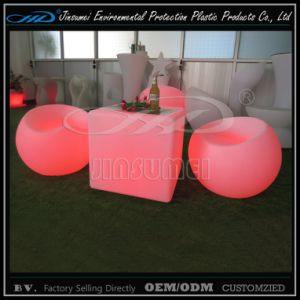 Luminous Garden Furniture with LED Color Changing pictures & photos