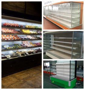 Display Cooler Type and Single-Temperature Style Multideck Showcase pictures & photos