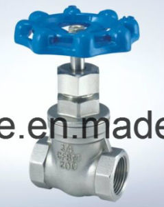 Stainless Steel Female Gate Valve pictures & photos