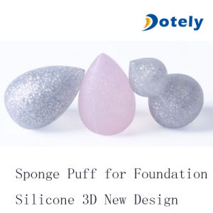 3D Silicone Makeup Sponge Beauty Silisponge Blender for Bb Cc Cream pictures & photos