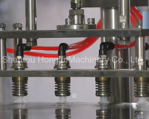 Automatic Pouch Filling and Capping Machine for Spout Standing Pouch pictures & photos