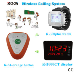 Ce Approved 433.92MHz Ycall Brand Service for Guest Pager Equipment Waiter Buzzer Call System pictures & photos