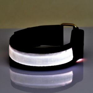 Custom Promotional Gift Logo Sport Safety LED Armband for Running pictures & photos