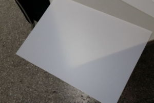 Translucent White HIPS Plastic Sheets for Display pictures & photos