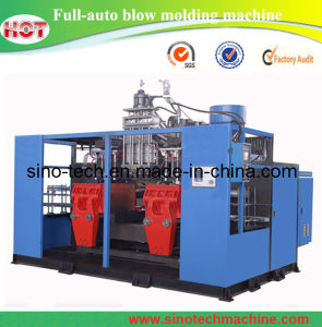 HDPE Plastic Shampoo Bottle Extrusion Blowing Mold Making Machine pictures & photos