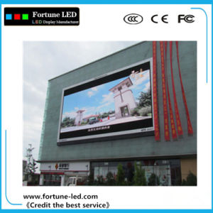 Hjy P8 Advertising Screen Outdoor Full Color LED Display