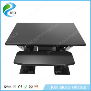 Gas Lifting Height Adjustable Sit Stand Desktop/Sit Stand Desk Manufacturer (JN-LD08-A1) pictures & photos