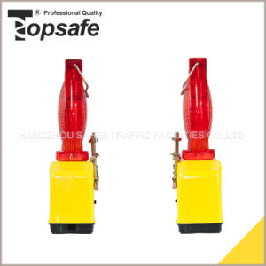 4PCS LED Solar Power Warning Light for Traffic pictures & photos