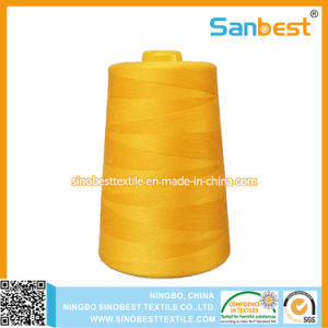 Spun Polesyer Sewing Thread with High Quality pictures & photos