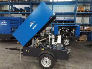 Hot Sale 178cfm 7bar Screw Diesel Air Compressor for Jackhammer pictures & photos
