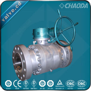 Forged Steel Trunnion Mounted Ball Valve pictures & photos