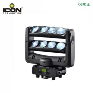 8X10W Cool White LED Beam Moving Head Spider Stage Light pictures & photos