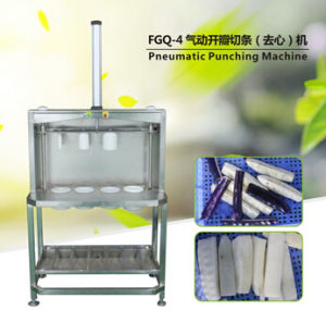 Fgq-4 Fruit Pneumatic Punching Machine, Pneumatic Carrot Cutting Machine pictures & photos