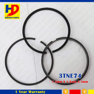 3tne74 for Yanmar Diesel Engine Spare Parts Engine Piston Ring with 3mm Oil Ring pictures & photos