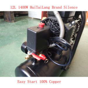 1400W 12L 2 Cylinder Air Compressor Pump Oil Free Air Compressor pictures & photos