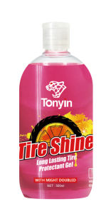 Water Based, Oilness Black Crystal Tire Shine for Car Care pictures & photos